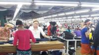 Garment factory workers Myanmar