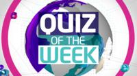 Quiz of the week graphic