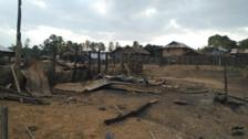 Shan villagers feel force of Burmese army anger