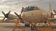 European Naval Force (EUNAVFOR) anti-piracy reconaissance plane at the French military base in Djibouti