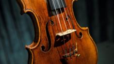 A Stradivarius violin