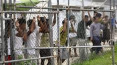 Asylum seekers at Manus Island. Photo: March 2014