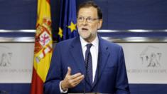 Spain's acting Prime Minister Mariano Rajoy, 29 Aug 16