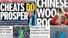 Tuesday's back pages
