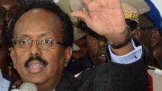 Mohamed Abdullahi Mohamed speaking