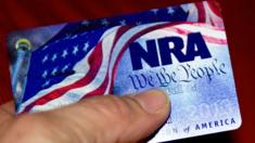 An NRA membership card
