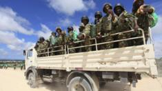 Amisom troops, file