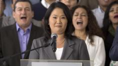 Keiko Fujimori concedes in presidential election in Lima, Peru, Friday, June 10, 2016