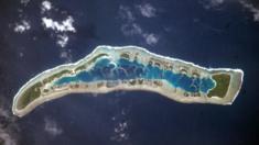 Millennium Island in Kiribati