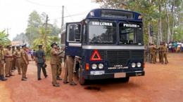 Sri Lanka prison bus shooting kills seven