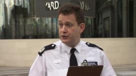 Commander BJ Harrington, Metropolitan Police.