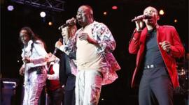 Earth Wind and Fire performing in 2013