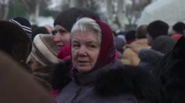Woman in Ukraine