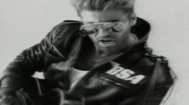 This video has been removed for rights reasons. George Michael released multi-million selling album Faith in 1987.