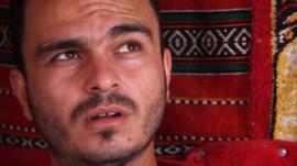 Fadi, a Syrian refugee in Jordan