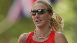 Marathon world-record holder Paula Radcliffe