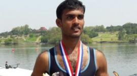 He won two gold medals at India's National Games in 2014