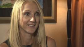 Marathon world record holder Paula Radcliffe