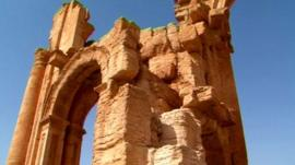 Library pictures of Palmyra