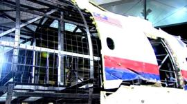 Reconstruction of MH17