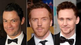 Dominic West; Damian Lewis; Tom Hiddleston