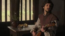 Mathew Baynton as William Shakespeare