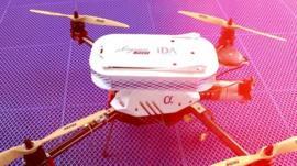 Singapore Post drone