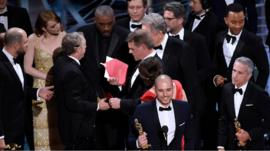 La La Land mistakenly called out as best picture