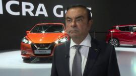 Carlos Ghosn, Nissan boss on Brexit