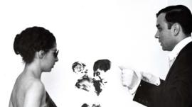 Elena Palumbo-Mosca and Yves Klein