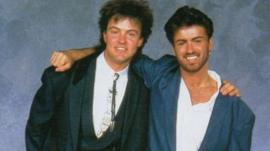 Paul Young and George Michael