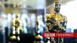 Image of an Oscars statue