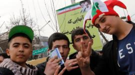 Iranian youth in Tehran (11/02/16)