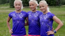 Leila, Liina and Lily Luik