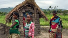 Bawili's new latrine