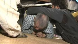 Man is rescued from Japan earthquake rubble