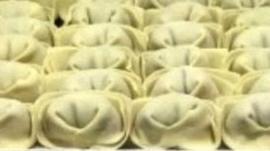 lots of dumplings