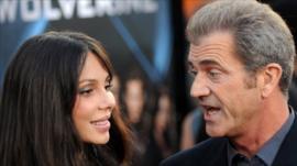Oksana Grigorieva and Mel Gibson