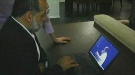 Hamid Dabashi, pro-opposition Iranian blogger based in New York