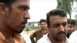 Flooding victims in Pakistan