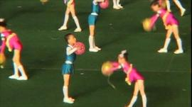 North Korean dance festival