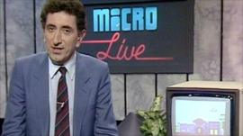 Micro Live TV show from 1986