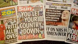 British tabloid newspapers