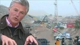Tim Willcox in Chile