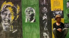 Soweto artist Nkululeko Mhlangu
