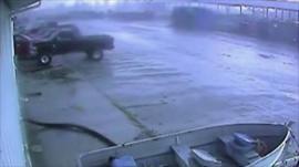 CCTV of tornado courtesy Hoosier Machinery Solutions