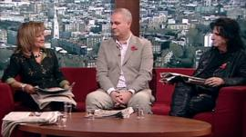 Baroness Helena Kennedy, Iain Dale and Alice Cooper review the papers on the Andrew Marr Show