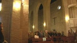 Catholic mass in Spain