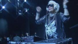 Granny DJ Ruth Flowers, a.k.a. Mamy Rock