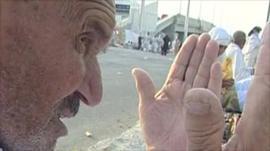 Worshipper at Hajj